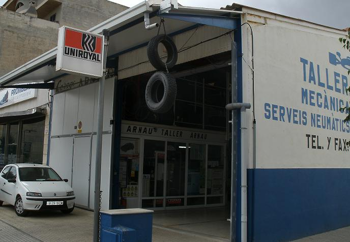 car mechanics car tyres Mallorca